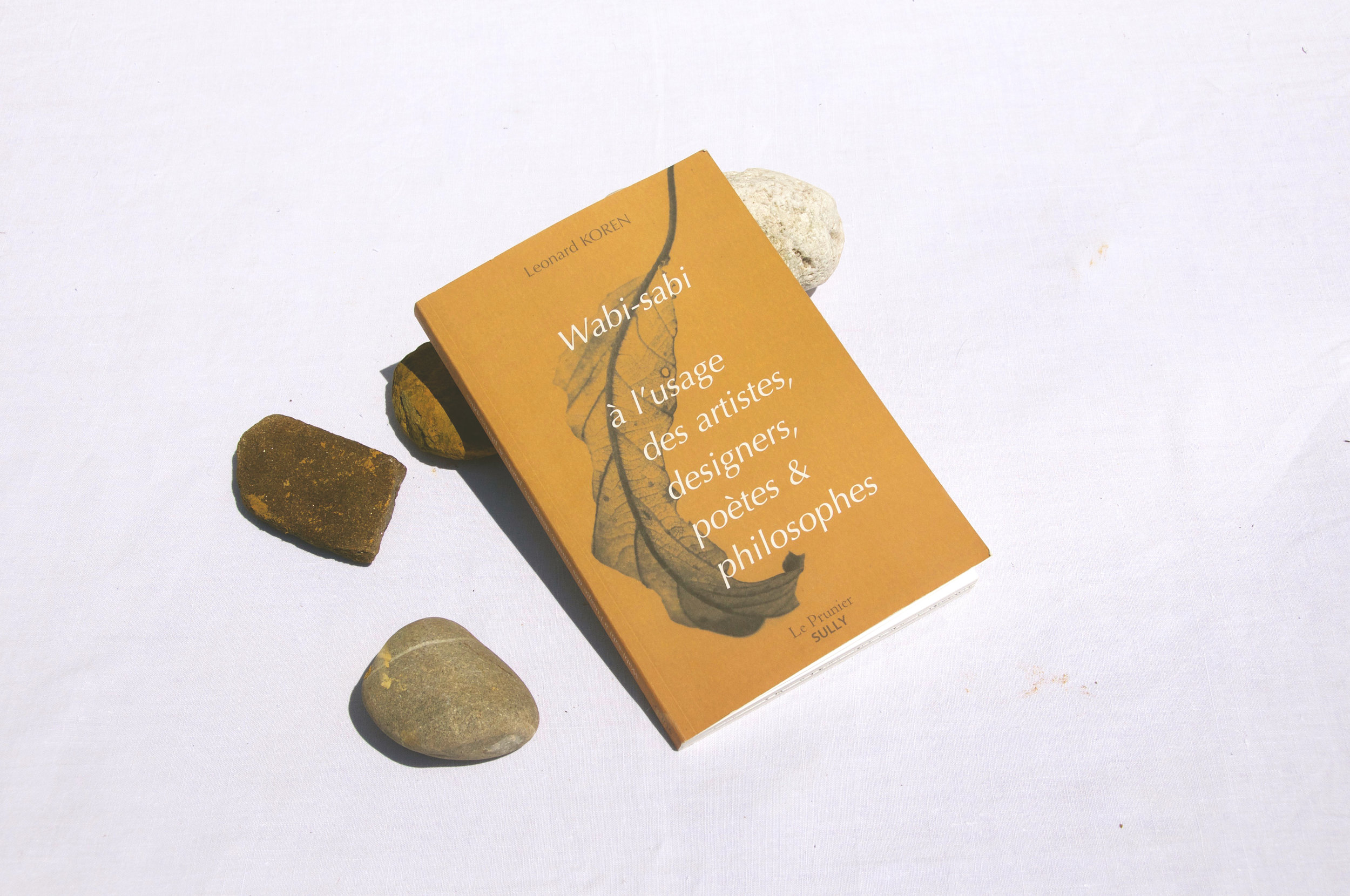 Livre de Leonard Koren sur le Wabi-sabi