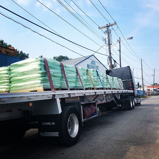 Full load going out today to make our roads safer and our environment safer. Double tap if you think our roads need to be safer!!