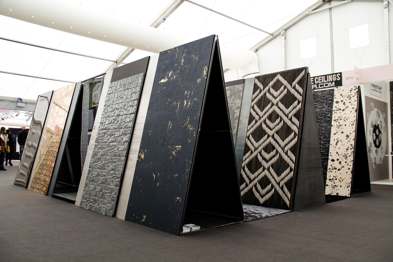 The Future of Luxury Surface Design   An exhibition exploring the latest trends in cutting edge surface design at London's luxury trade event, Decorex.