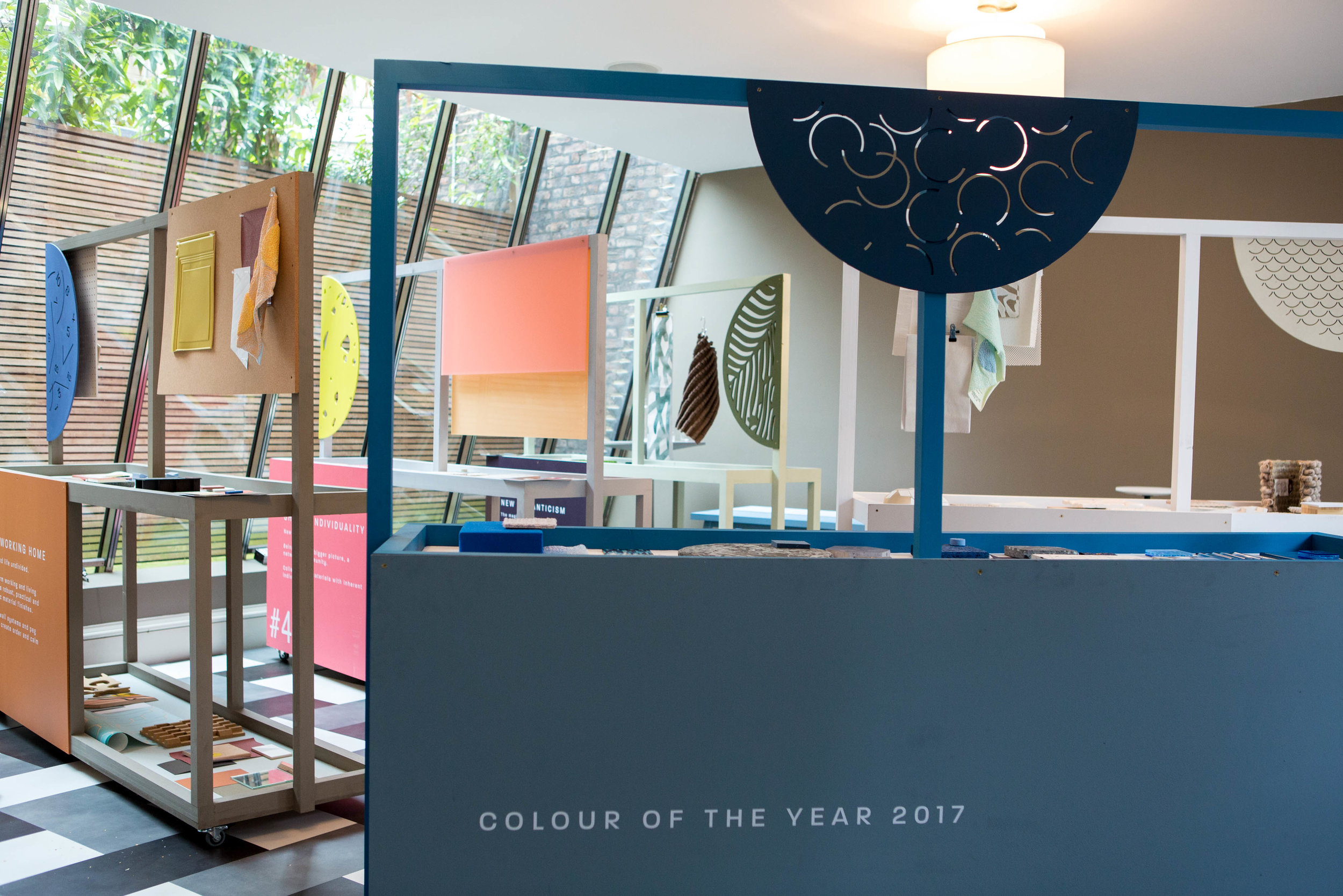 Life in a New Light   A special exhibition of materials bought together to celebrate Dulux Colour Futures event at 1 Fitzroy Square.