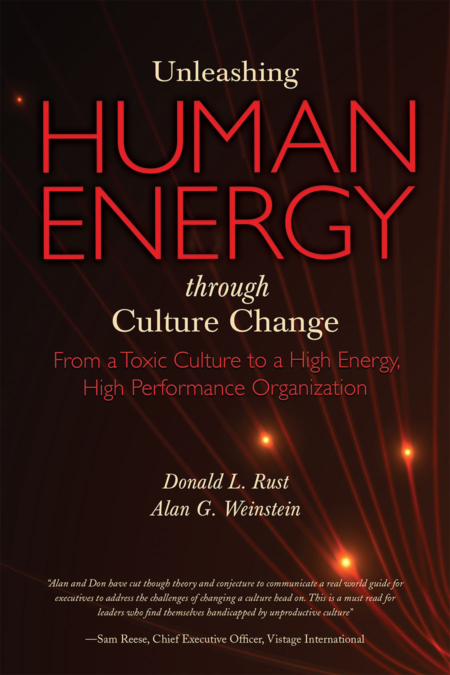 About the Book — Unleashing Human Energy Through Culture Change