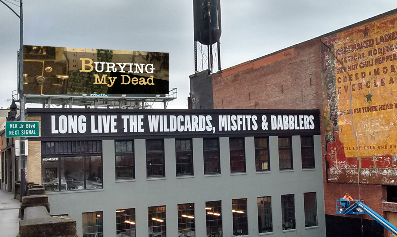 Bettie dreams of buying a billboard. Photoshop skills come in handy!
