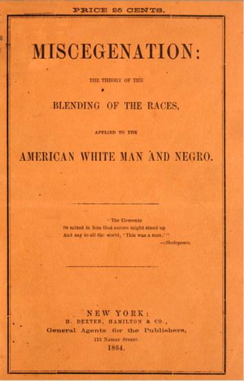 FAKE NEWS: 1864 style. Courtesy  hoaxes.org