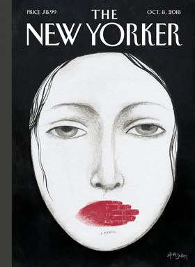 The provocative cover of the Oct. 8, 2018 edition of  The New Yorker