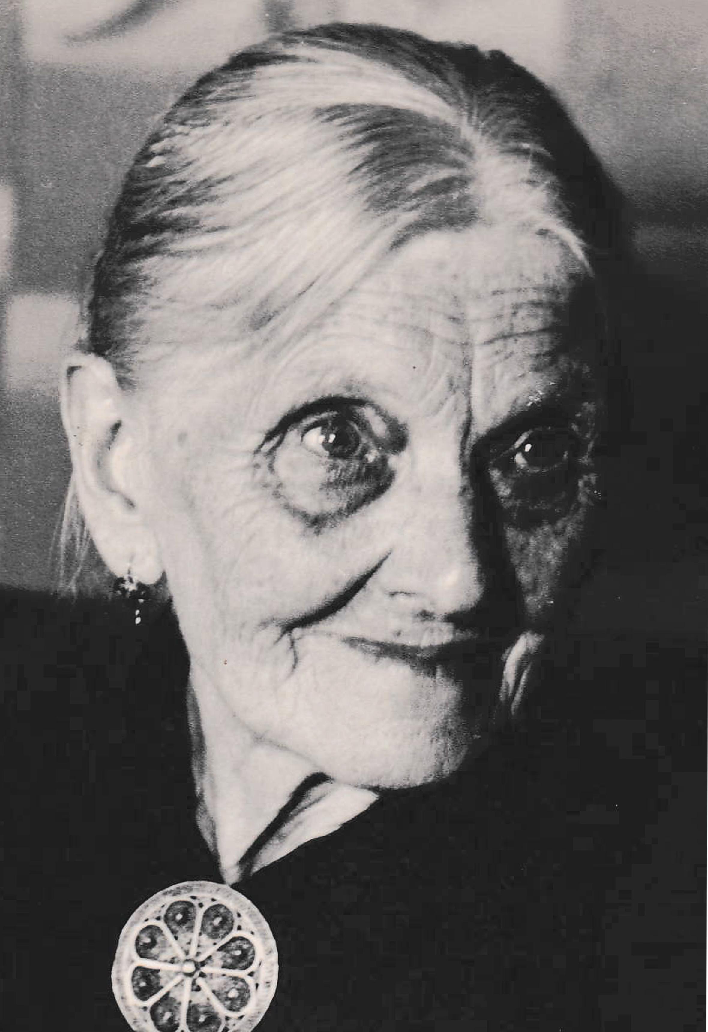 Augusta Köppen , Gertrud's mother and Elsa's grandmother, was known as Mütterchen (little mother).