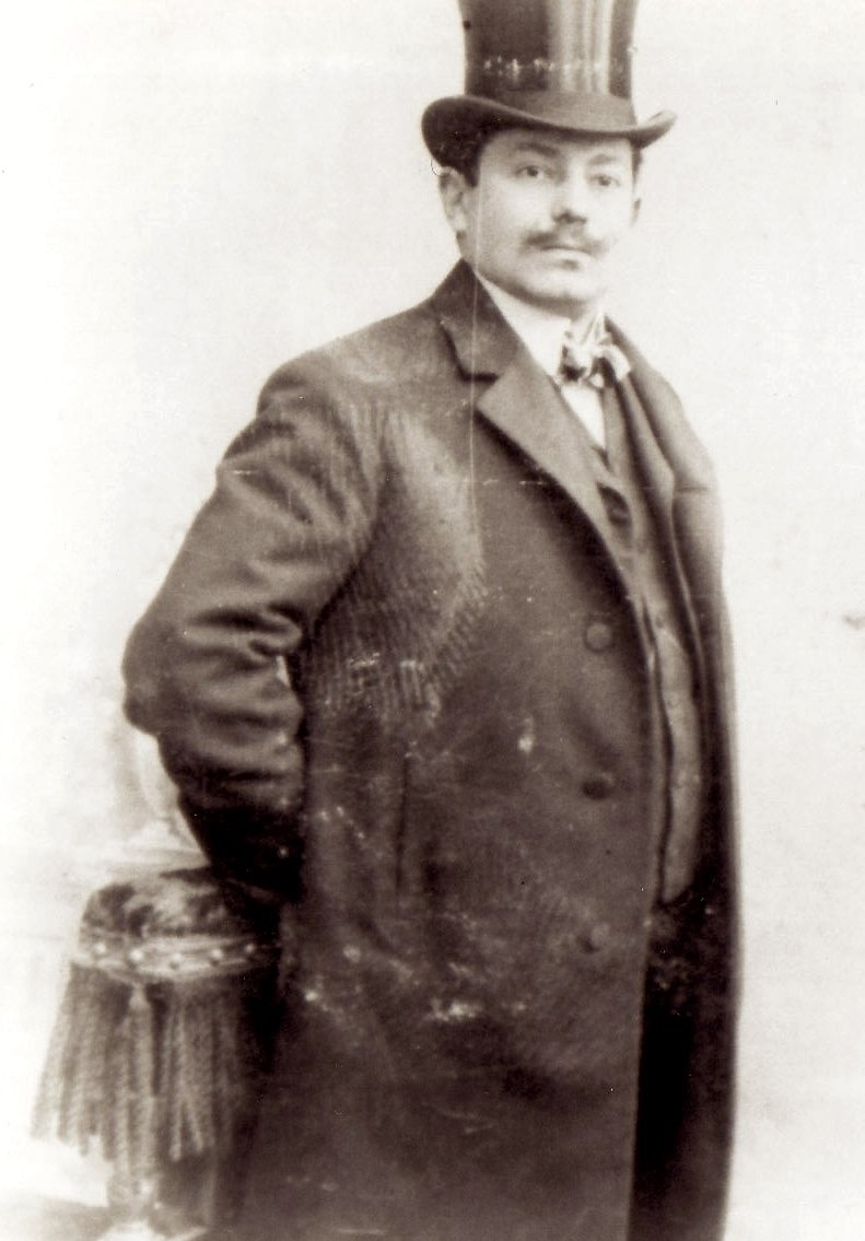 Wilhelm Stern (Papa) as a younger man.
