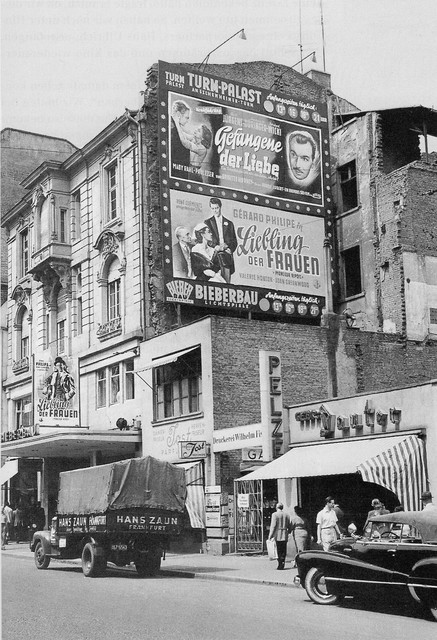 The  Bieberbau Theater  opened in 1924. It's mind-boggling to juxtapose the innocence and magic of cinema with Hitler's release from prison and his rise to power.  Photo courtesy of   CinemaTreasures,org, Ken Roe