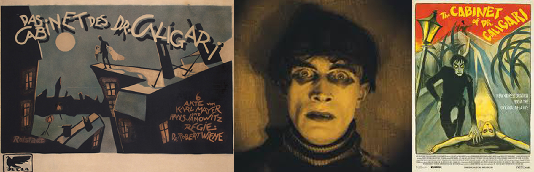 The Cabinet of Dr. Caligari   put German movie-making in the global spotlight for its grim, expressionist sensibility. But Elsa enjoyed lighter fare coming out of America and Sweden.