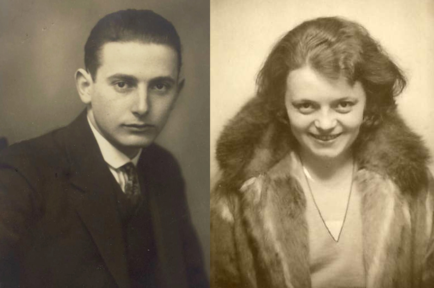 My father, born Sali Levi, and my mother, Elsa Stern…around 1930