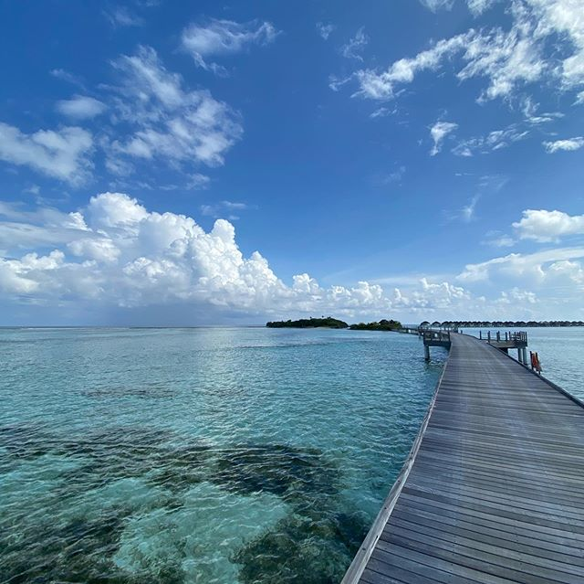 Something incredibly magical down here. Lost in Paradise. Don't send help @haylnorris @fsmaldives