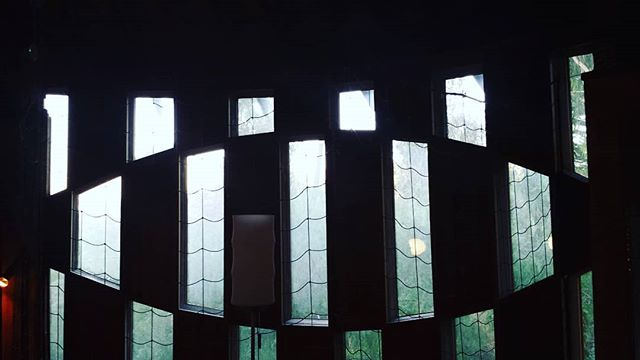 Do you see what eye see? The view from inside the Struckus House (Bruce Goff/Bart Prince, 1984) #prp3_2019