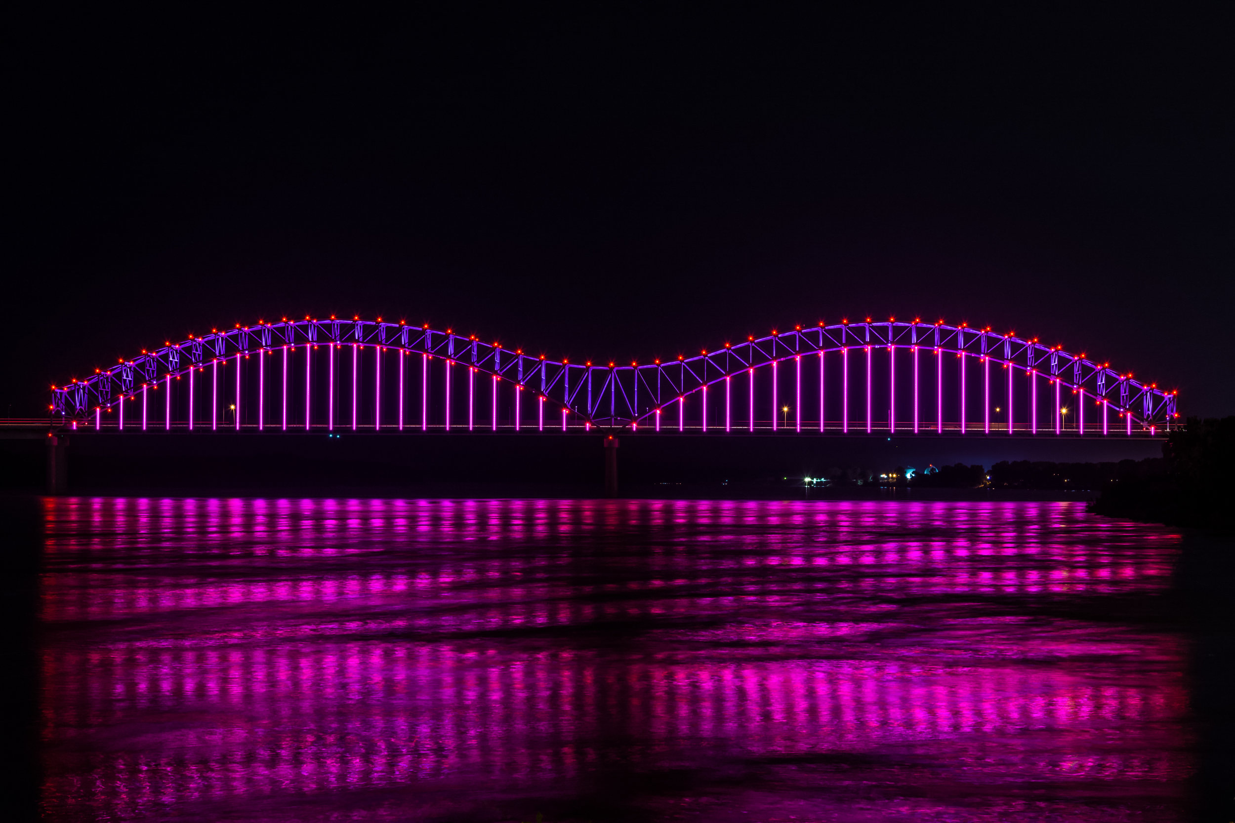 the current event of the year - Ceremonies begin at 6:30 pm leading to 7 pm revealRiverArtsFest – Riverside DriveFestival admission free after 5pmOr view from anywhere you can see both bridges