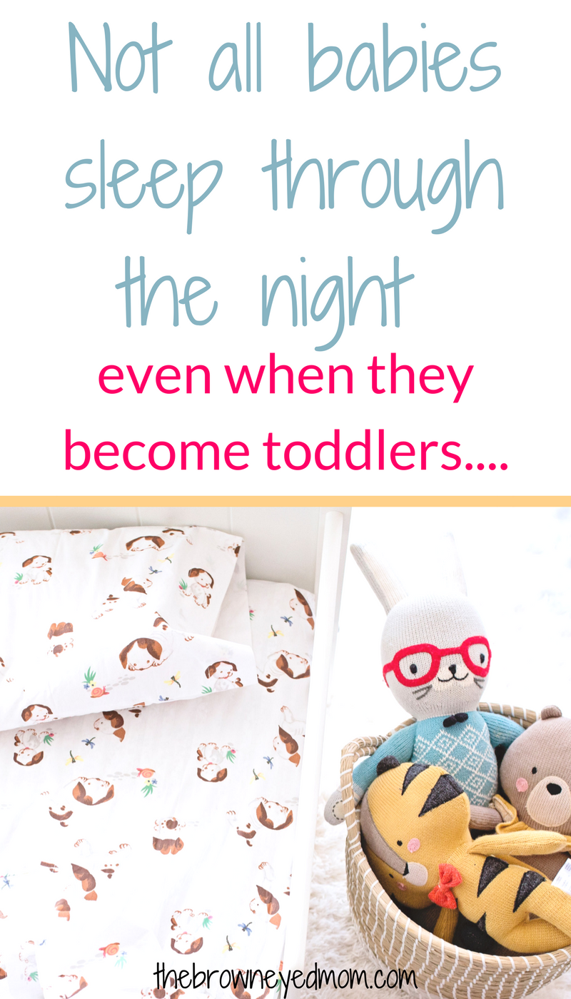 Sometimes, we are under the delusion that every single baby should sleep through the night from birth. And then there are those of us who wake up one day, realizing you now have a toddler that doesn't go down well at night and is still waking multiple times a night. Don't be disillusioned by the great sleep myth! #sleeptraining #toddlersleep #sahm #parenting