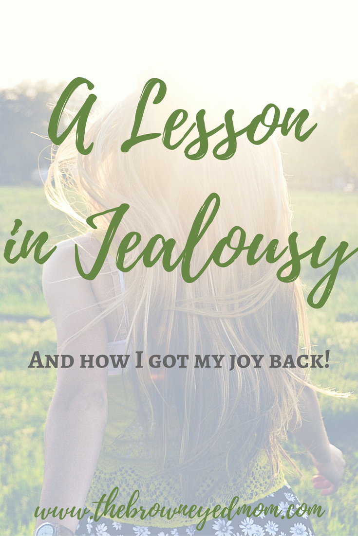 A Lesson in Jealousy #sahm #joy