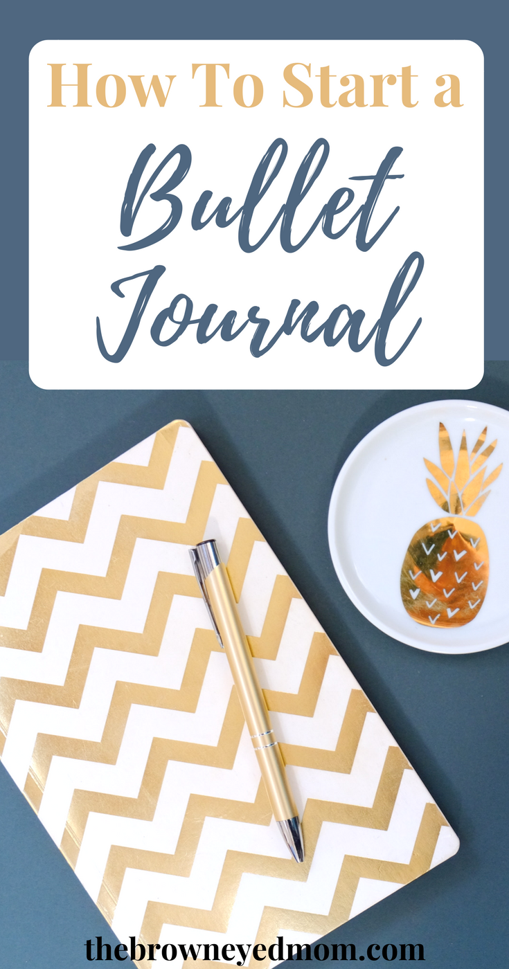 Bullet journals are all the rage right now. But many of you are still confused on what to do. Come along with me as we dive into how to start a bullet journal that's right for you! #bulletjournal #bujo #organization #planning #planner #momlife
