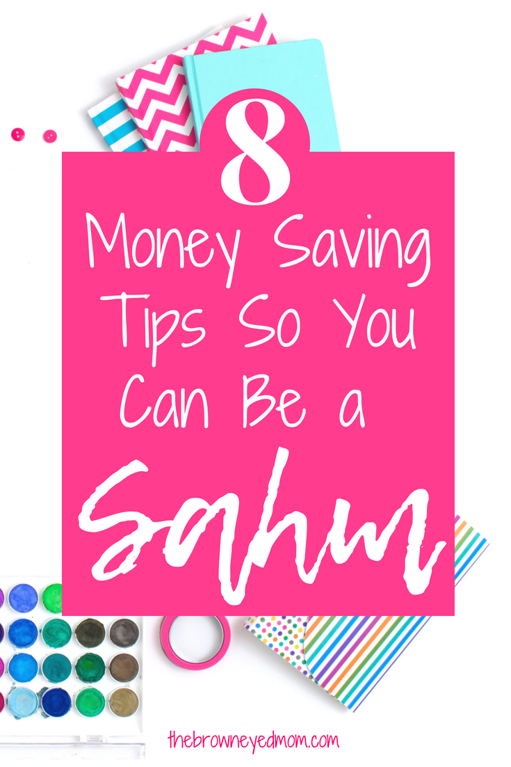 Do you long to be a SAHM, but you just don't think you can afford to? Check out these tips on how to afford to be a SAHM, even on a low income!  #sahm   #budgeting