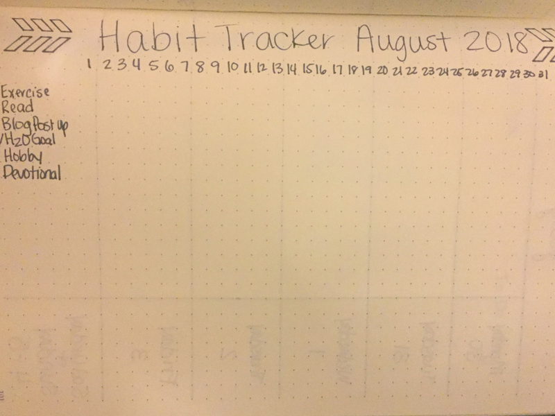 Habit tracking can be an excellent way to visually see what is going on in your life. Tracking your habits can also help you see what areas of life you need to work on or need help with! #bulletjournal #habittracker #selfcare