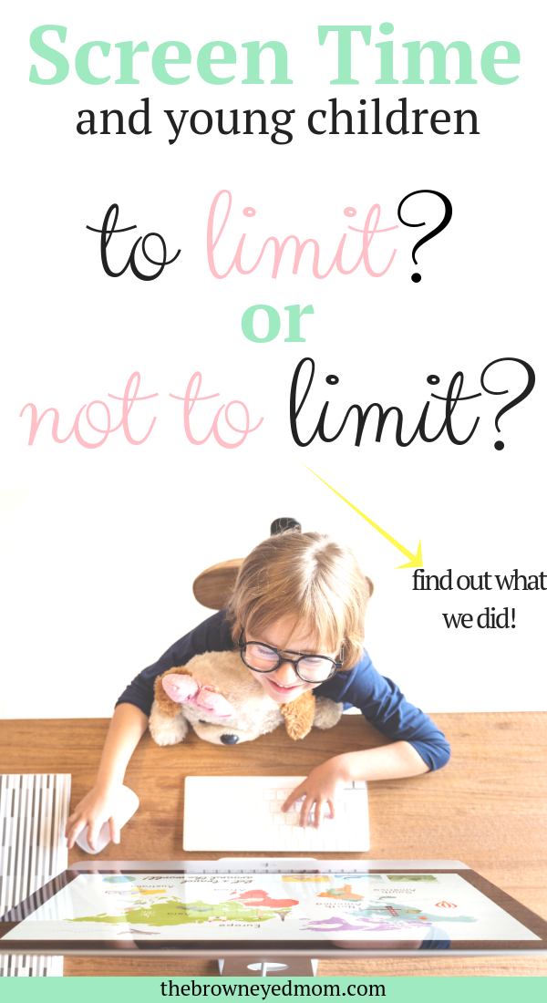 Screen time is a hard subject in the parenting world. Many have very strong, differing beliefs on how much is too much or how too little is too extreme. We cut screen time down in our house and had amazing results! #screentime #parenting #sahm #wahm #motherhood
