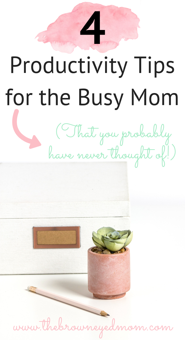 As moms, we can get busy and overwhelmed pretty quickly. You want to stay efficient and productive, but it doesn't seem to always work out for you. Being productive, though, means more than just keeping a to-do list in your bullet journal or planner. #productivity #busymom #productivitytips #sahm #wahm #momboss