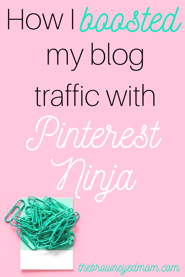 Are you struggling to get people to click through to your blog from Pinterest? Are you ready to take your Pinterest game up a notch? Check out how Pinterest Ninja is helping me reach my goals as a blogger!  #pinterestninja   #blogging   #bloggingtips   #affiliatemarketing   #momblog