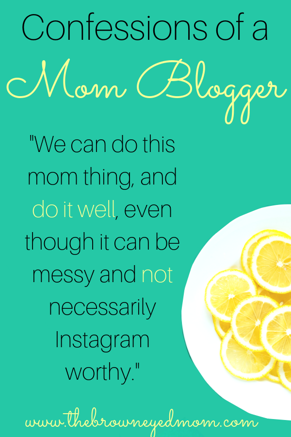 Being a mom can be hard. Add in being a mom blogger and it's even harder. But we can do this, mamas! #wahm #momblogger #momblog #quotes #inspirationalquote #sahm