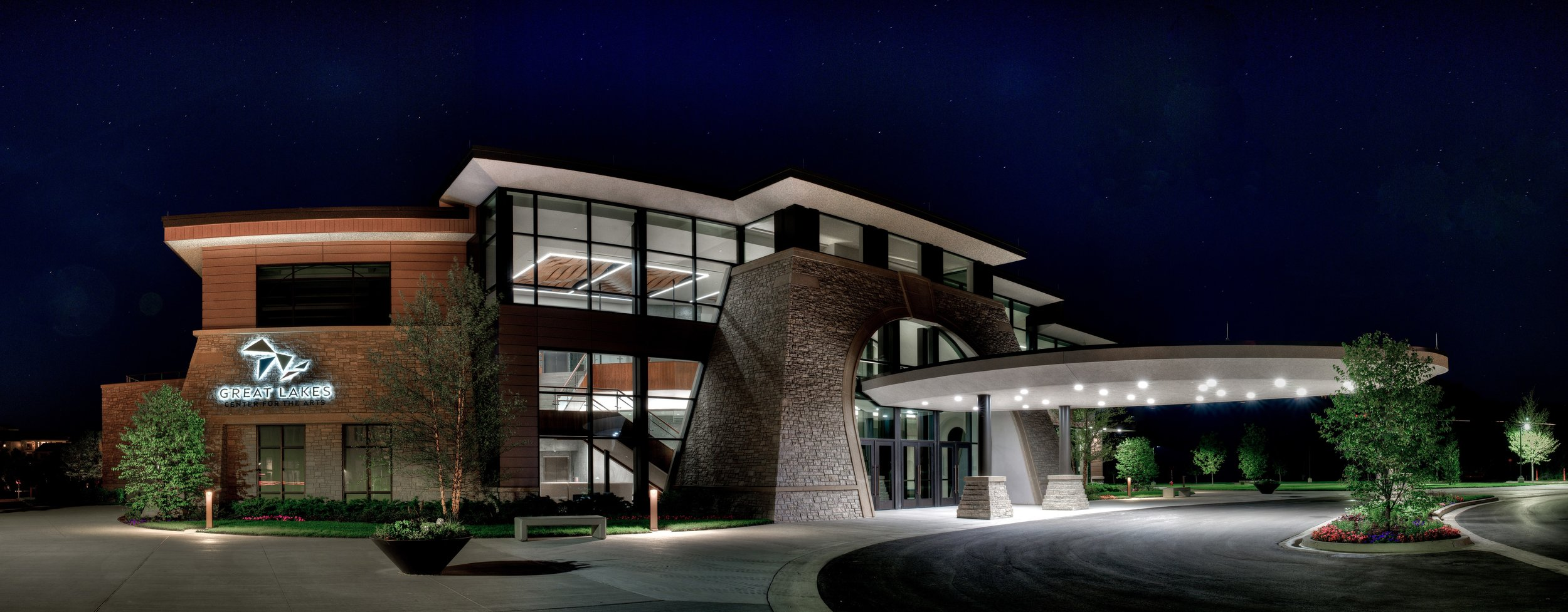 Great Lakes Center for the Arts - New Performing Arts Center - $20,000,000