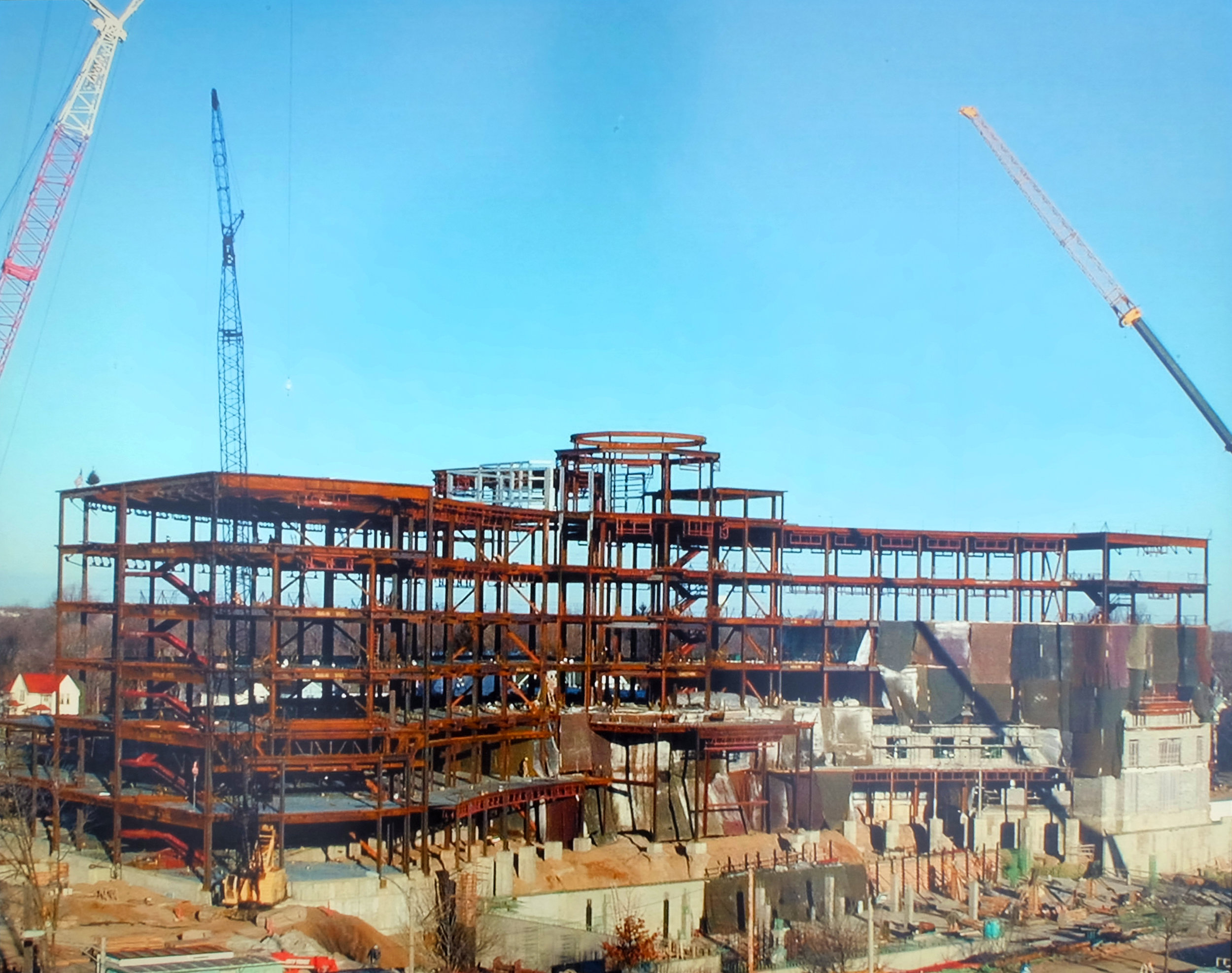 Hall of Justice Construction