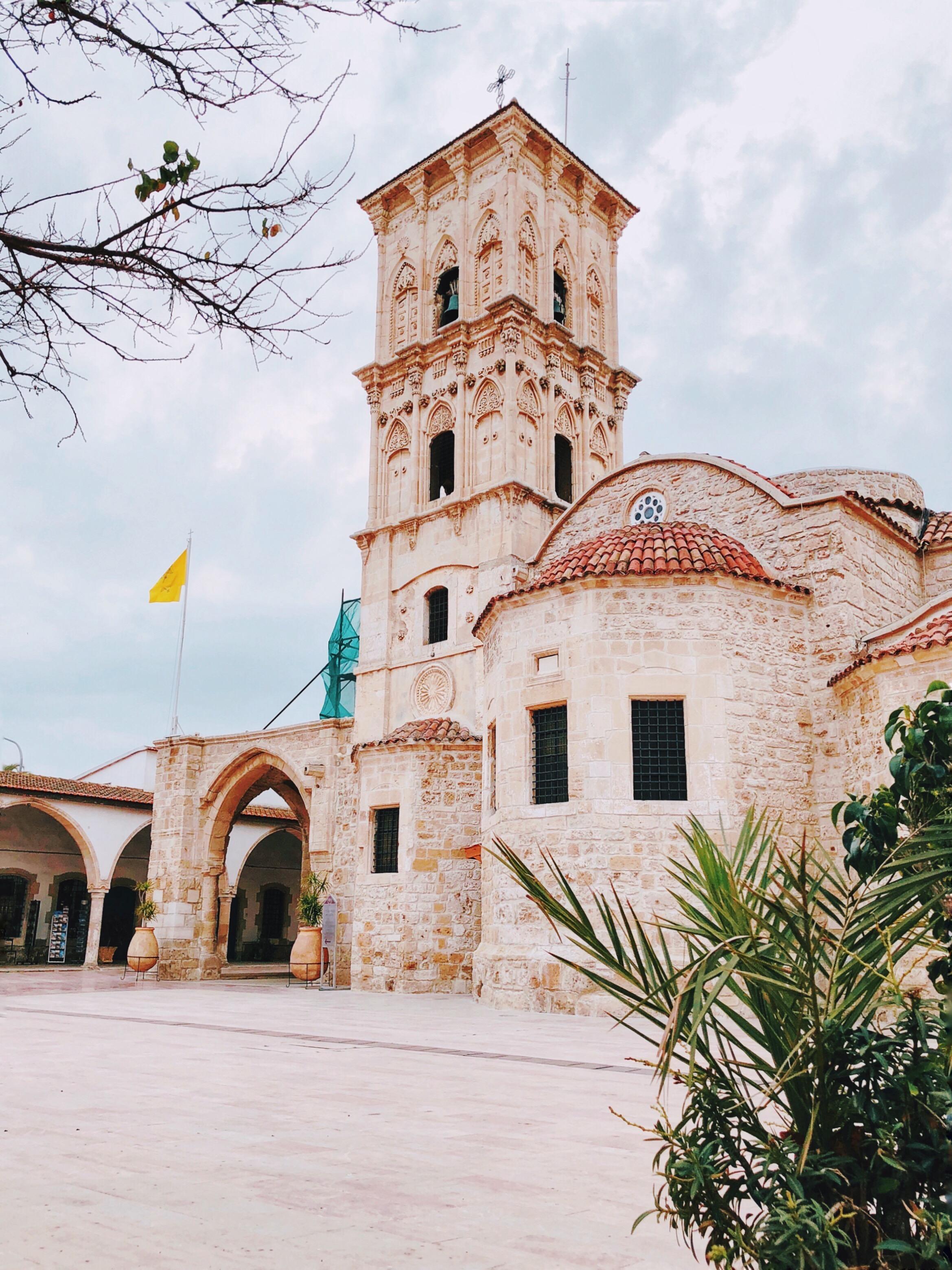 Larnaka's byzantine church.