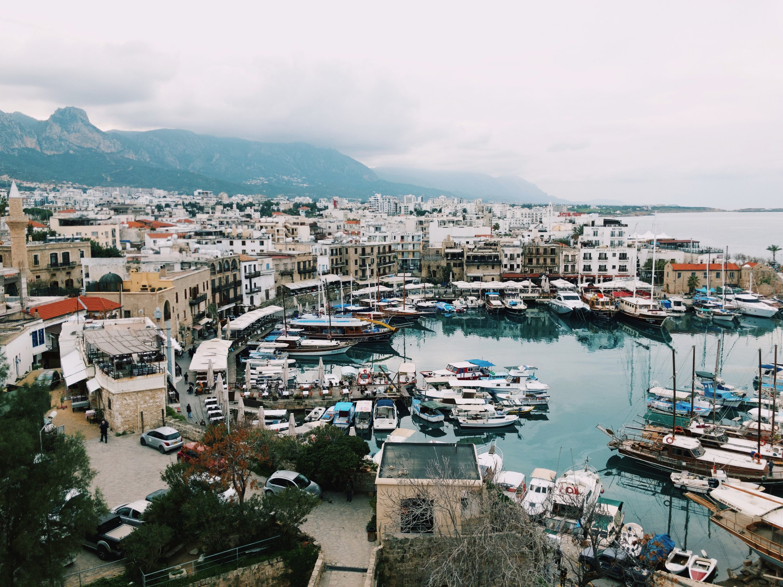 Kyrenia and its beautiful harbour.