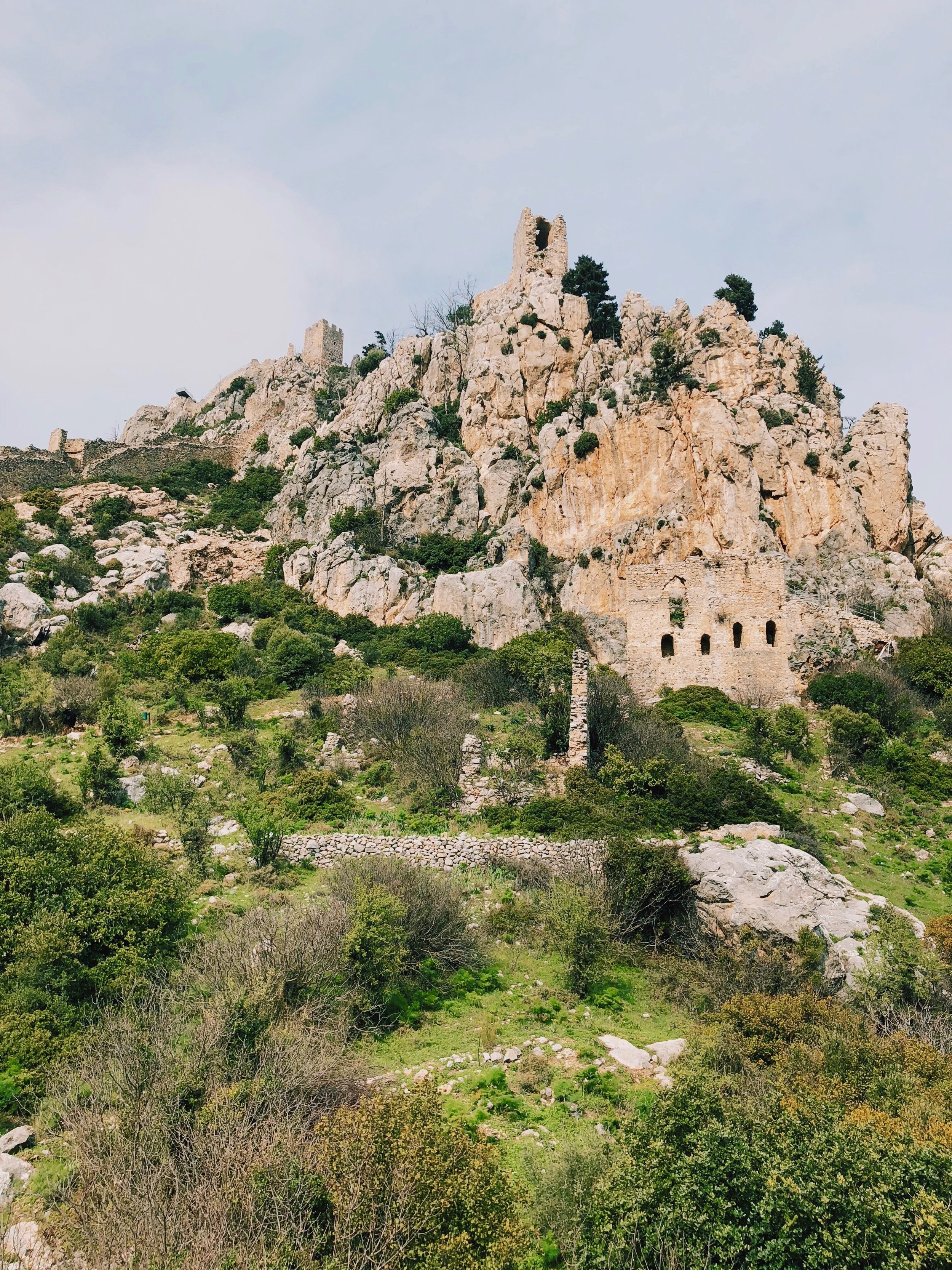 Saint Hilarion Castle.