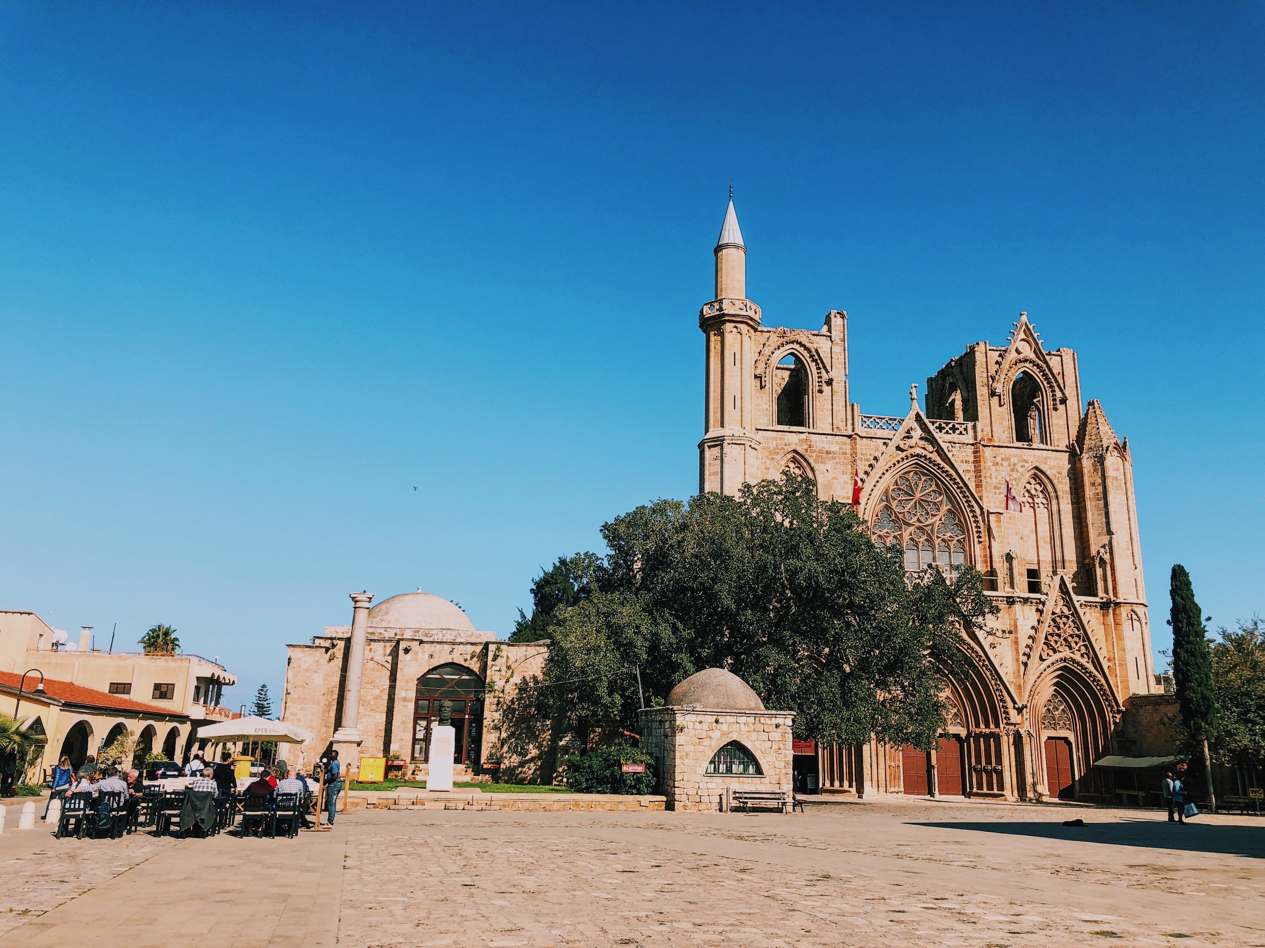 Famagusta's main square.