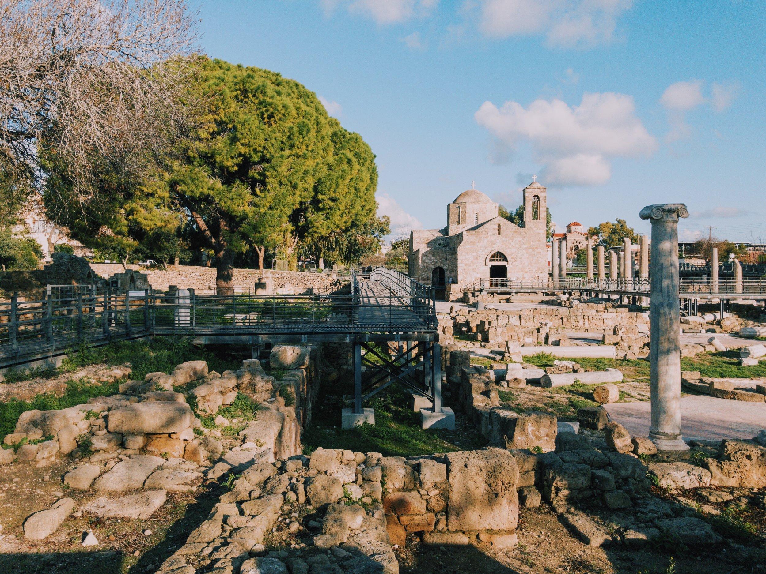 Chrisopolitissa Basilica.