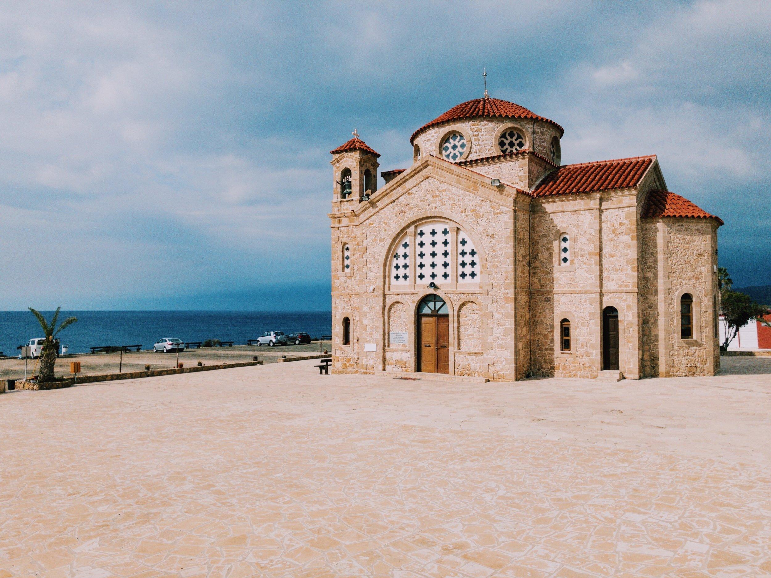 Agios Georgios church.