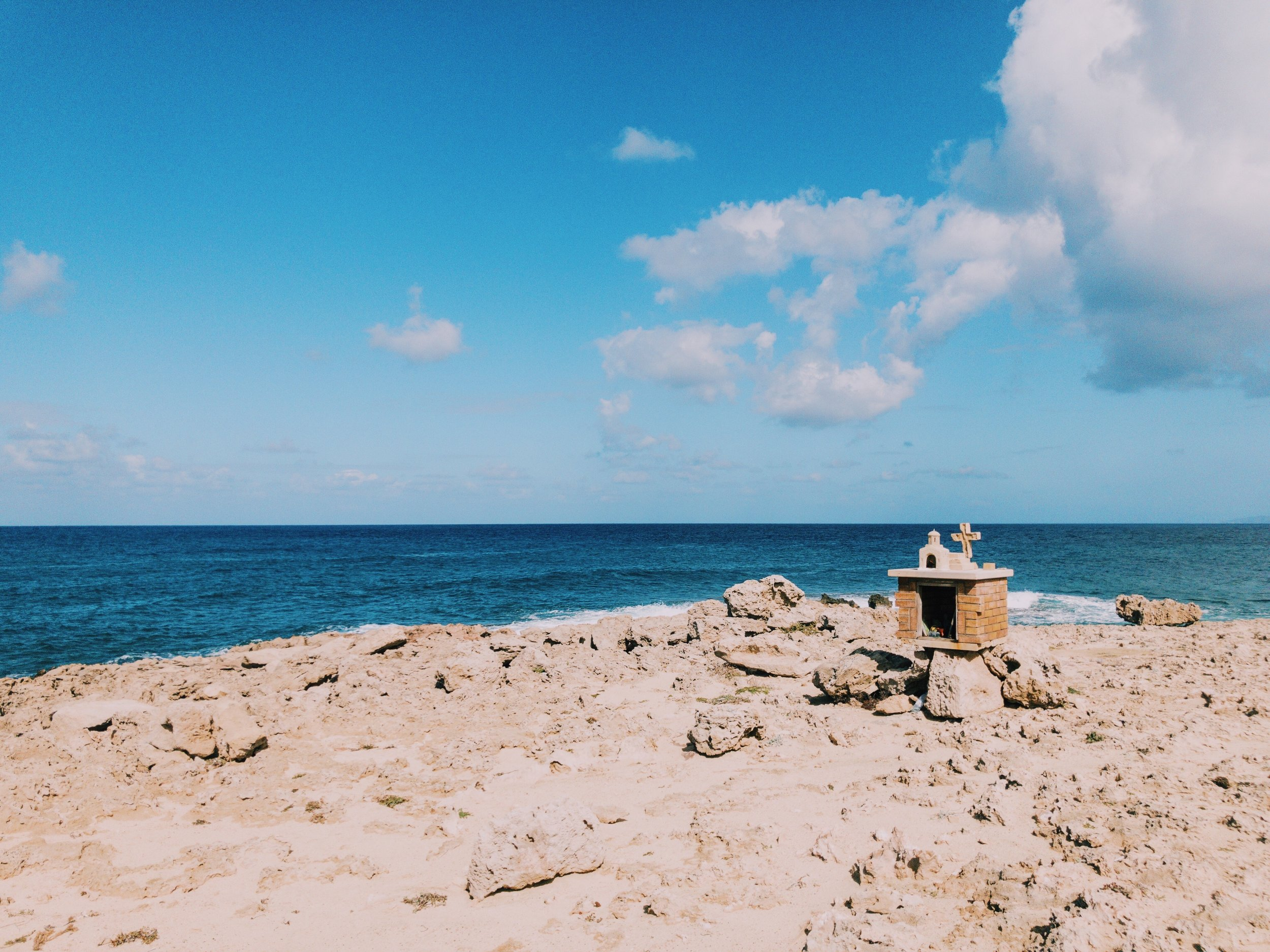 The shrine on the tip of Akamas Peninsula.