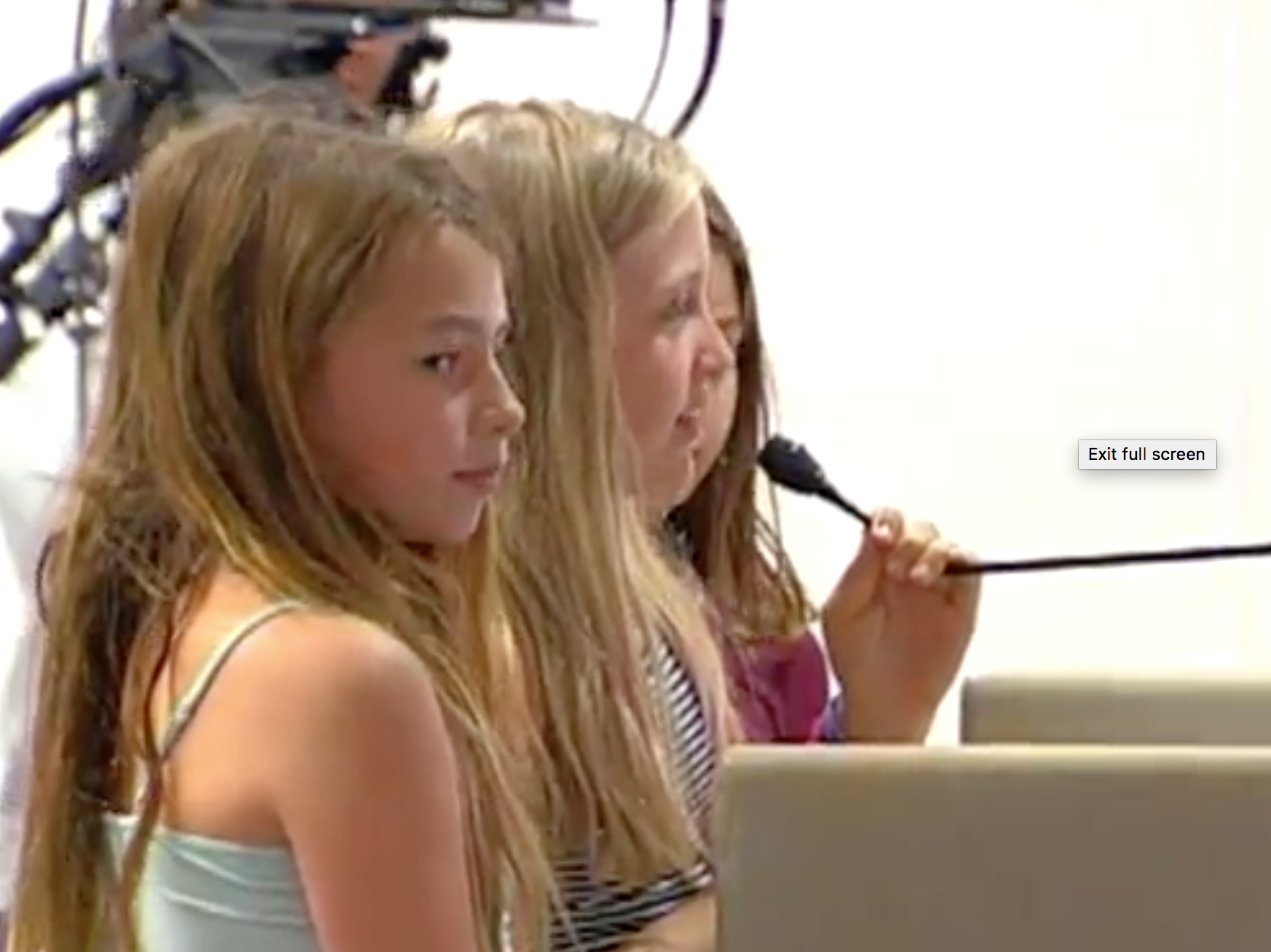 - Student advocates from Grant Elementary School