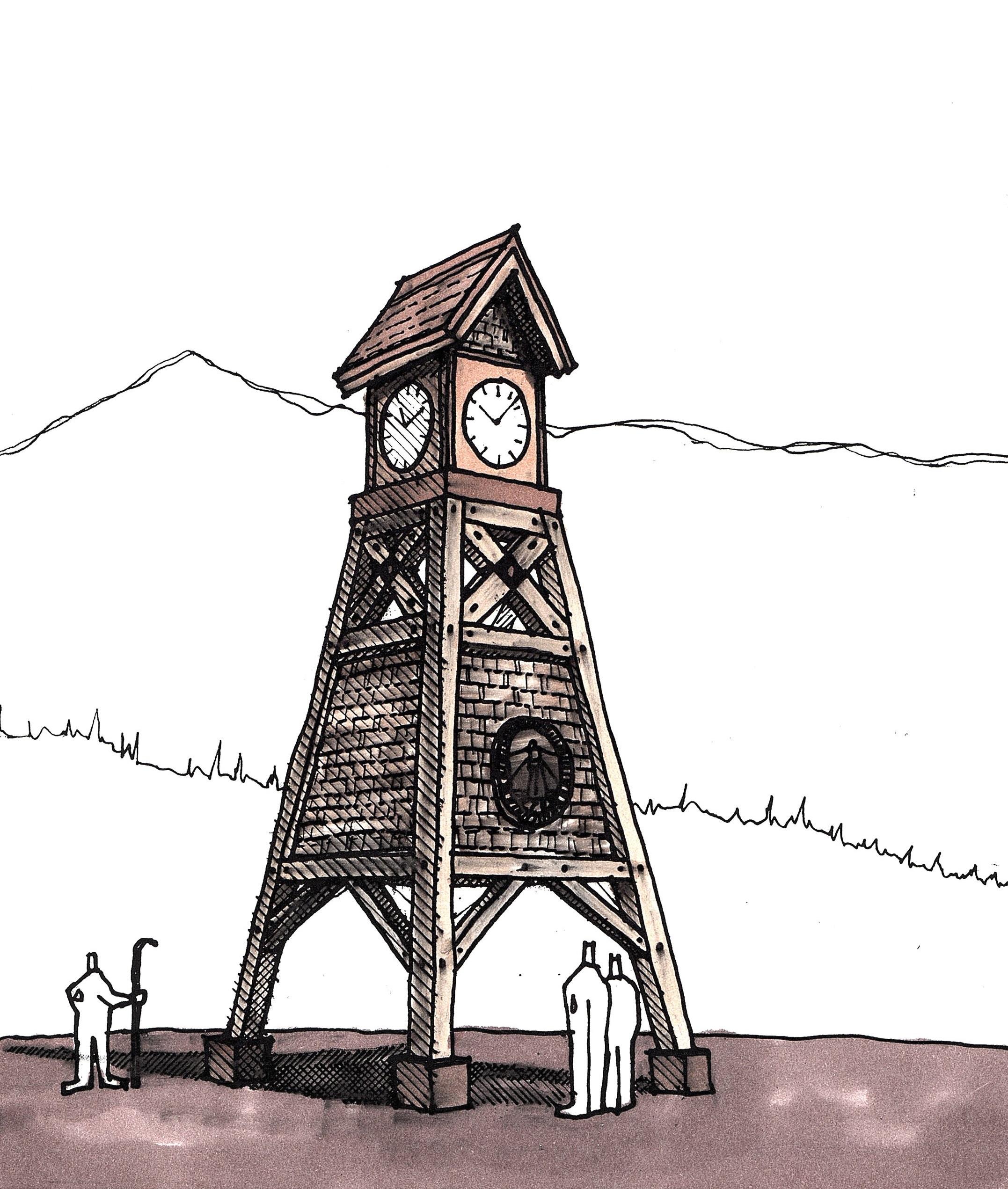 Schweitzer-Clocktower-Sketch.jpg