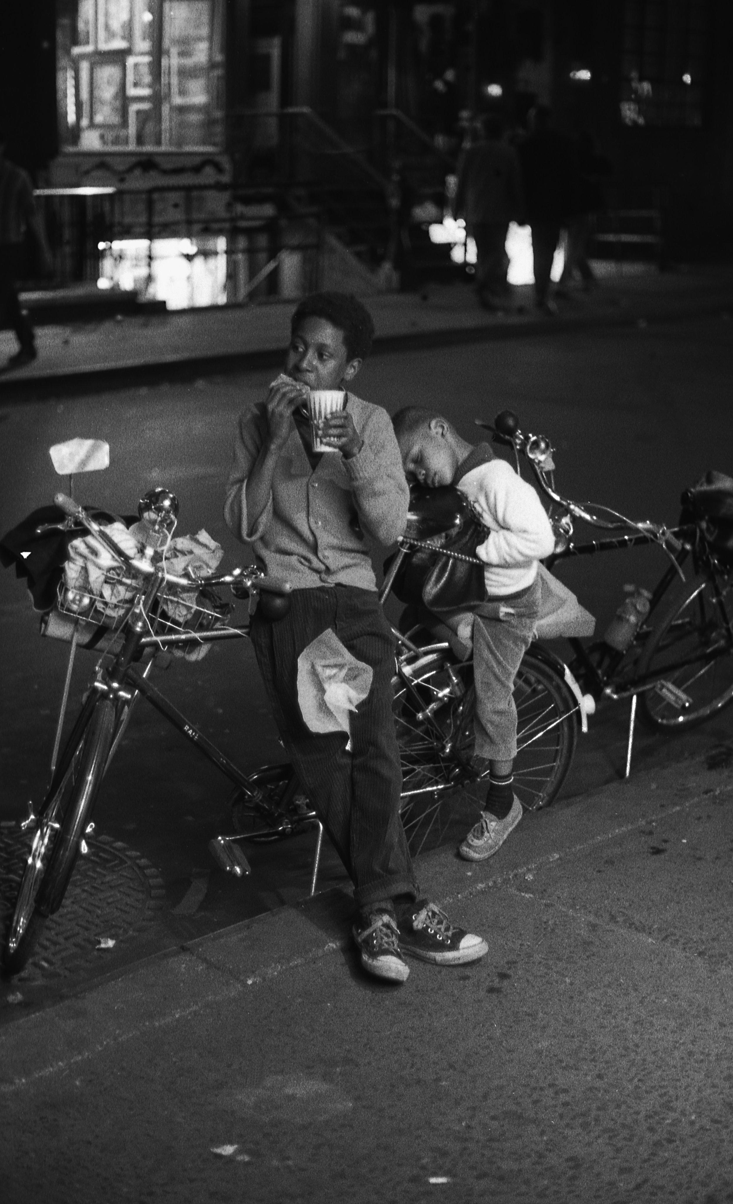 Boys on Bike