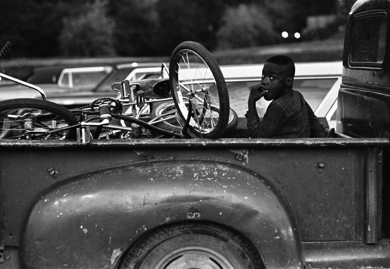 Boy on Truck