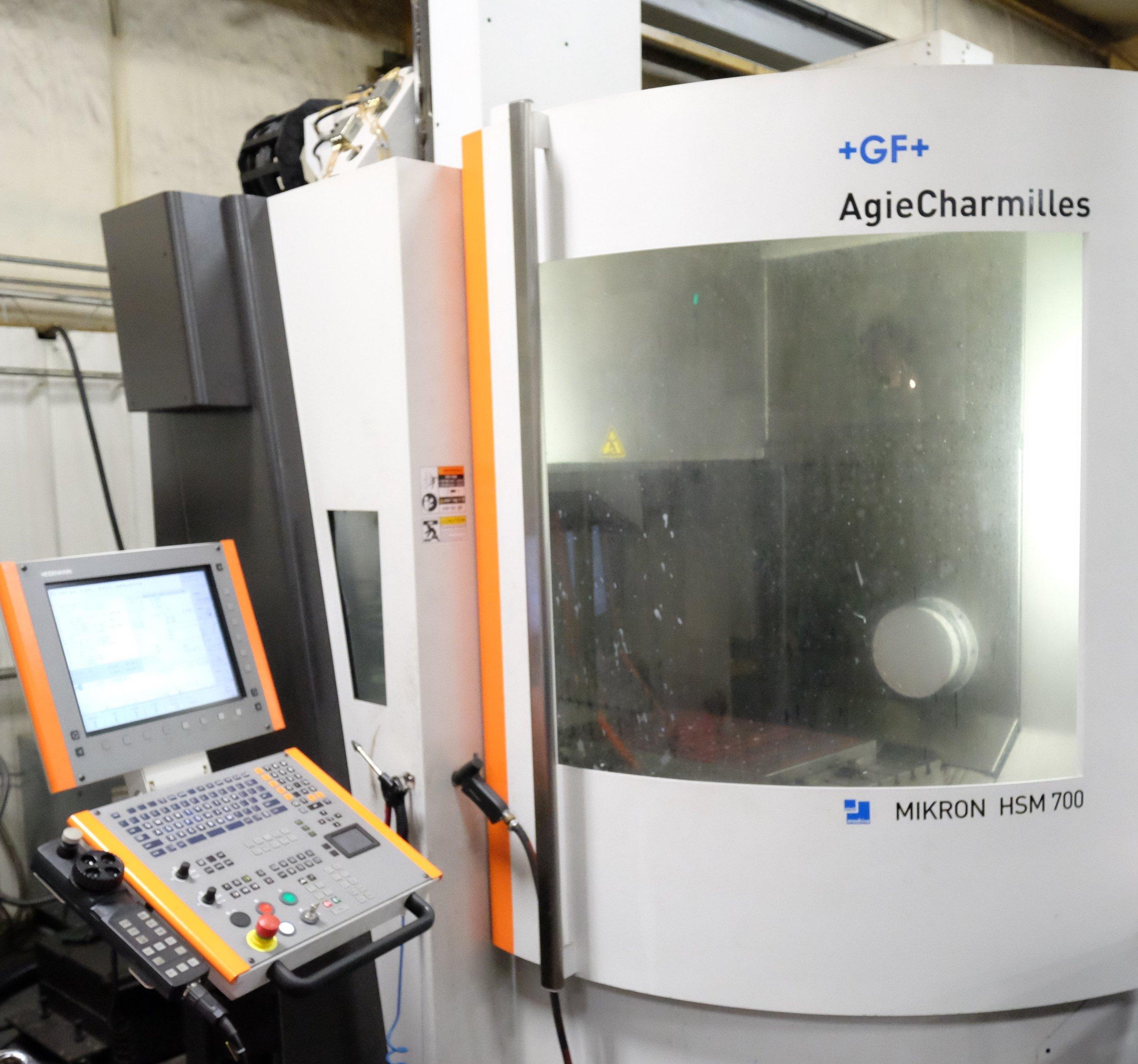 Agie-Charmilles HSM700 Mikron CNC Mill