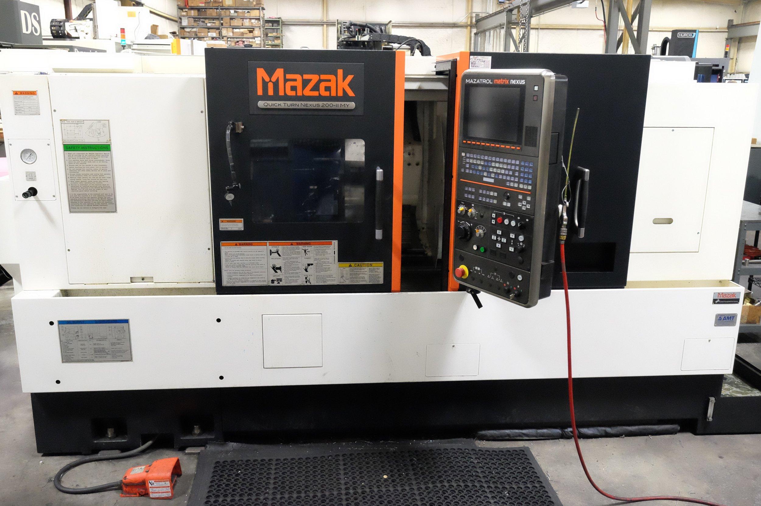 Mazak Nexus 200-II CNC Lathe
