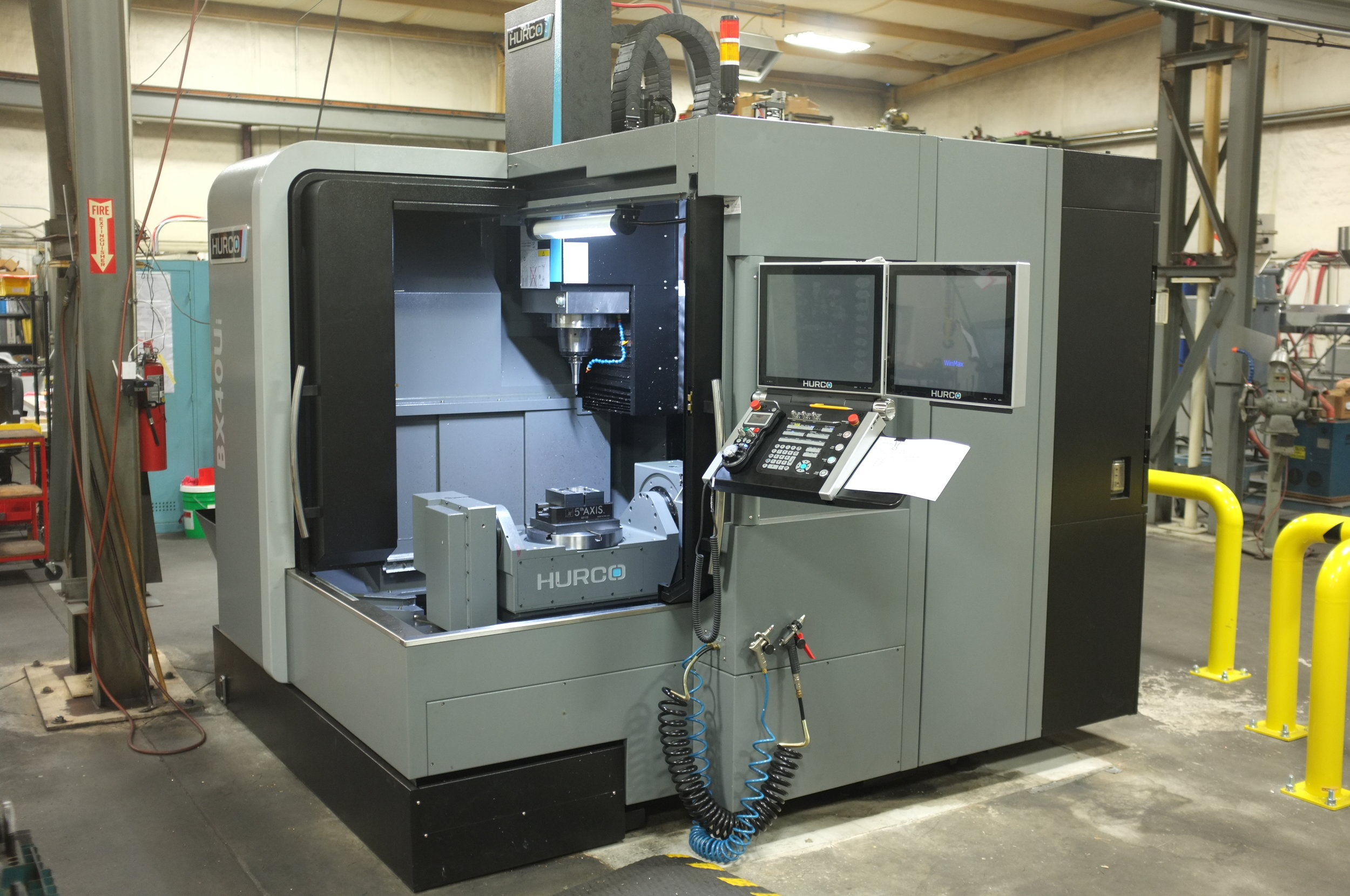 Hurco BX40i 5-axis mill