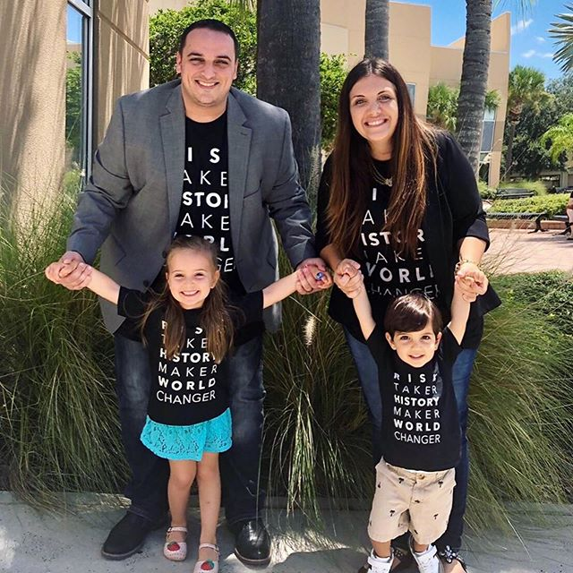 These guys got the good stuff!! You can too! These shirts and more are available in our store at herebelions.org! #merch #families #Repost @tanya_bitar ・・・ A family that churches together (& apparently matches together 😆) grows together! Thanks @therealherebelions & @herebedustin for the matching getup!! - #RiskTaker #HistoryMaker #WorldChanger #herebelions @b2g200