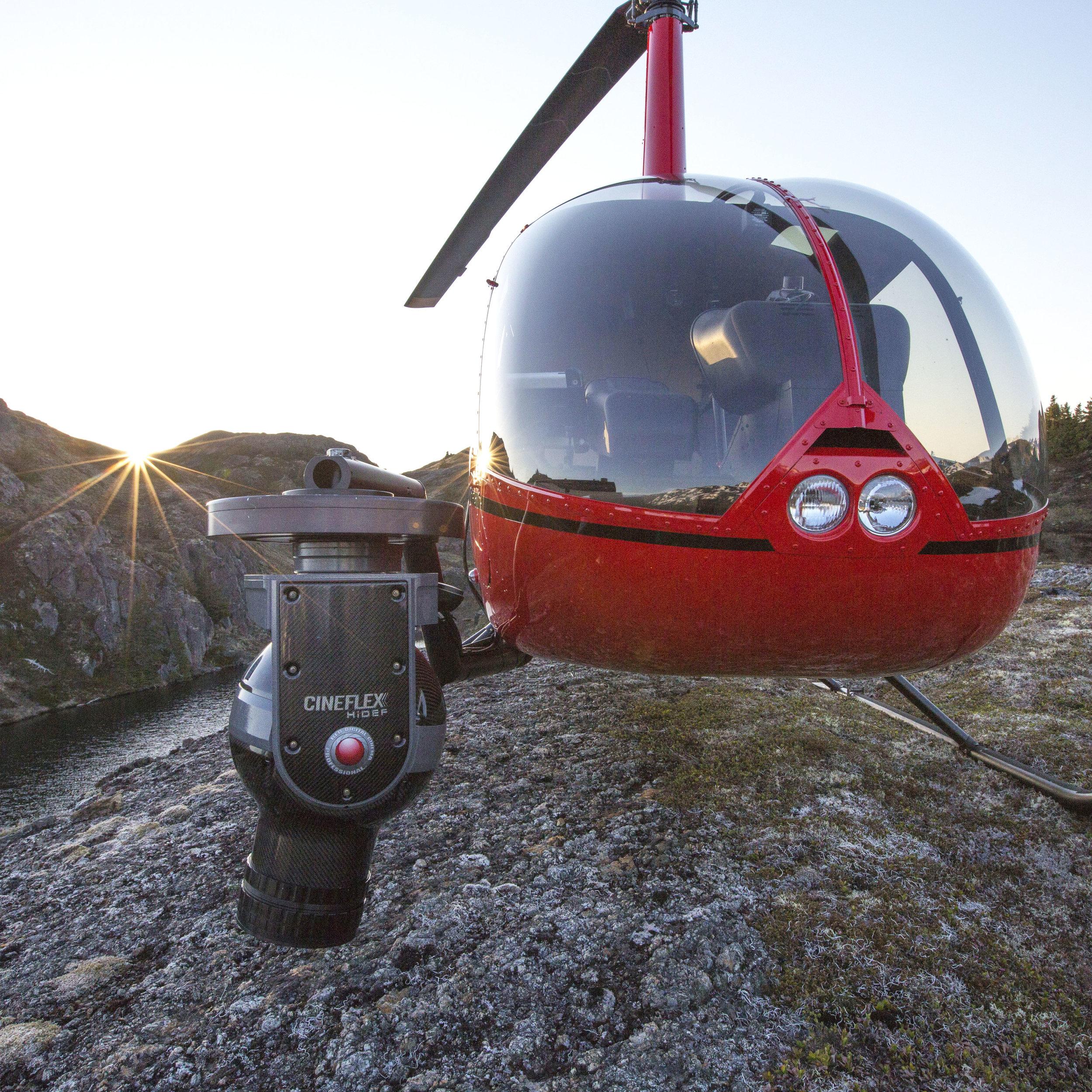 R66 Helicopter with Cineflex Gimbal - Zatzworks Aerial Video