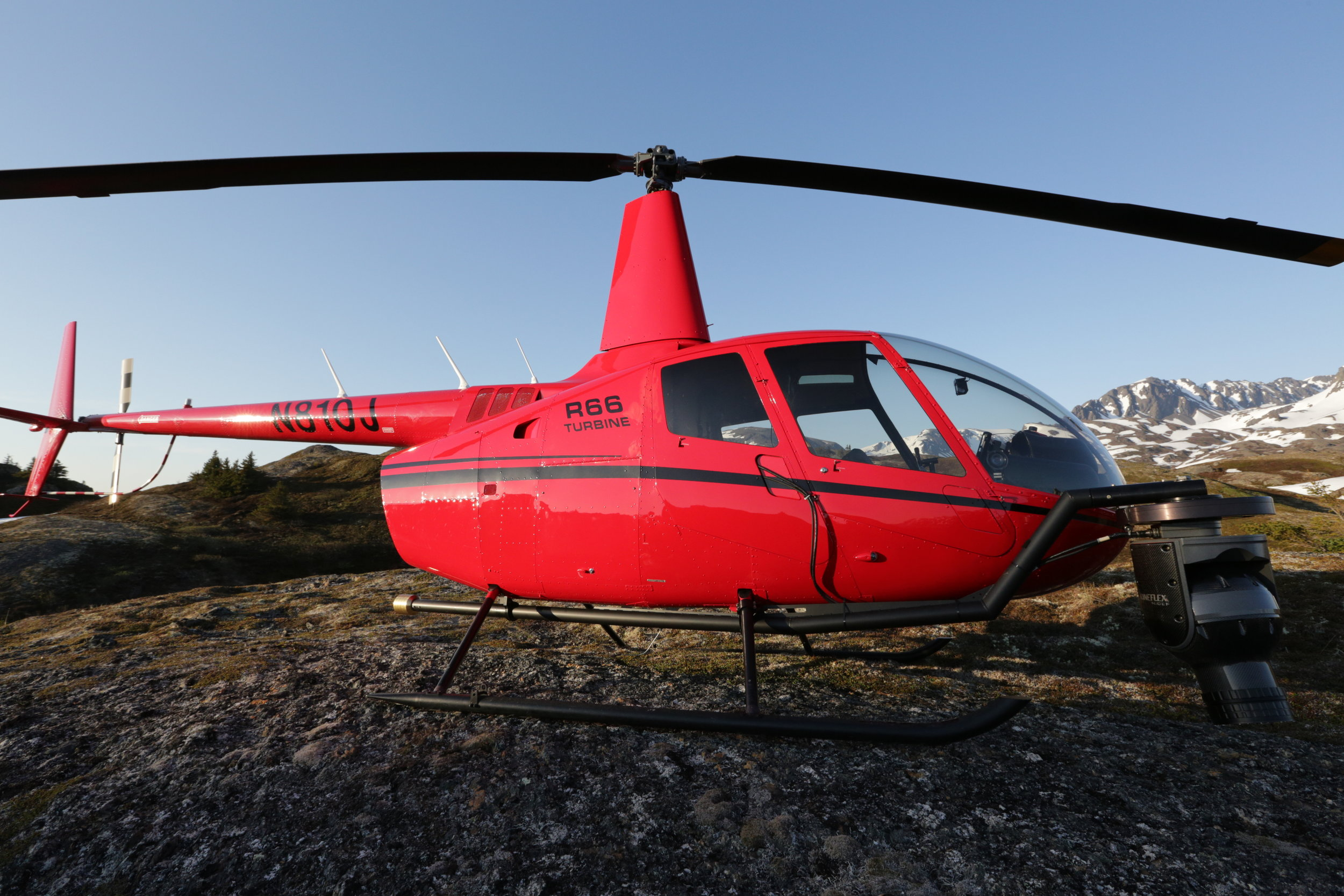 R66 Helicopter for aerial video capture -- Zatzworks Aerial Video