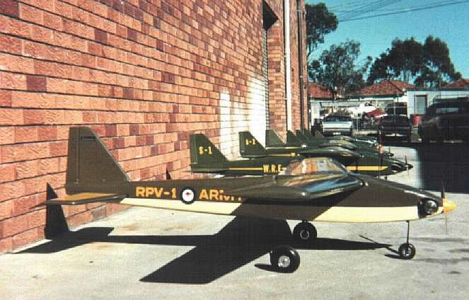 Silvertone Air Force circa 1974. Silvertone Weightlifter Mini RPV's awaiting delivery.