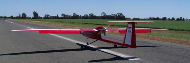 Flamingo 05 during test flying in Dalby Queensland.