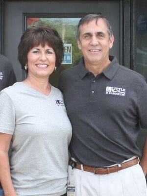 David & Shelley Little - OwnersDavid and Shelley Little are both natives of the Lake Norman area. They founded Little Wood Flooring in 2005 with the goal of being a competitively priced, quality focused entity in Cornelius. Shortly after, the recession hit and they were forced to downsize their team, but 13 years have gone by, and because of David and Shelley's dedication to this company, they are thriving. The Little name has become a cornerstone of the remodeling industry in the Lake Norman area.