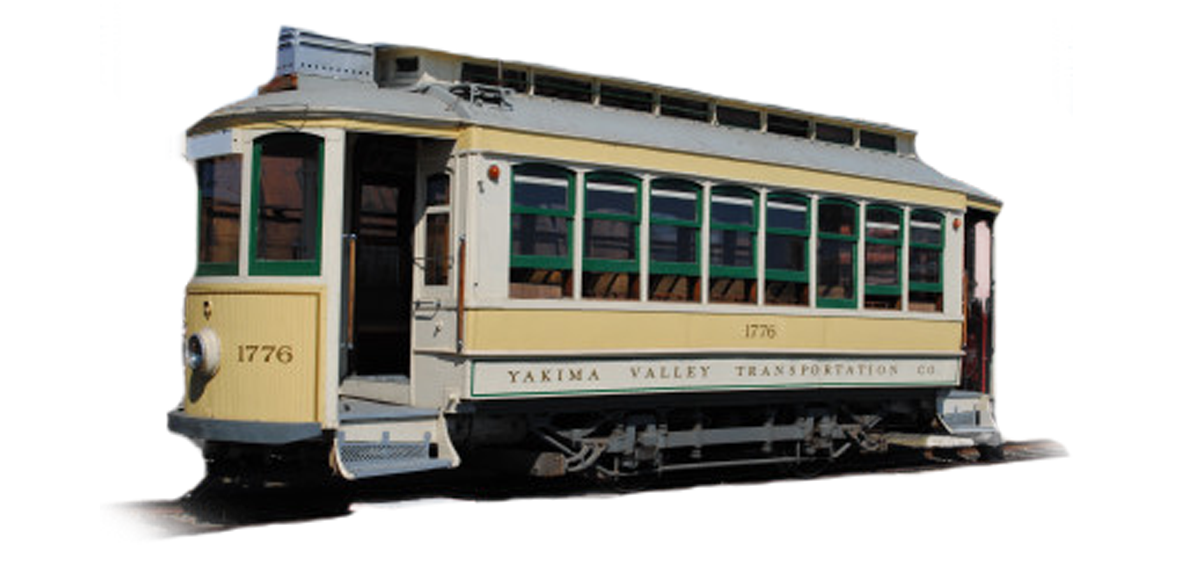 Yakima Valley Trolley - Open Every Sat & Sun - Open weekends and holidays until September 30, 2018