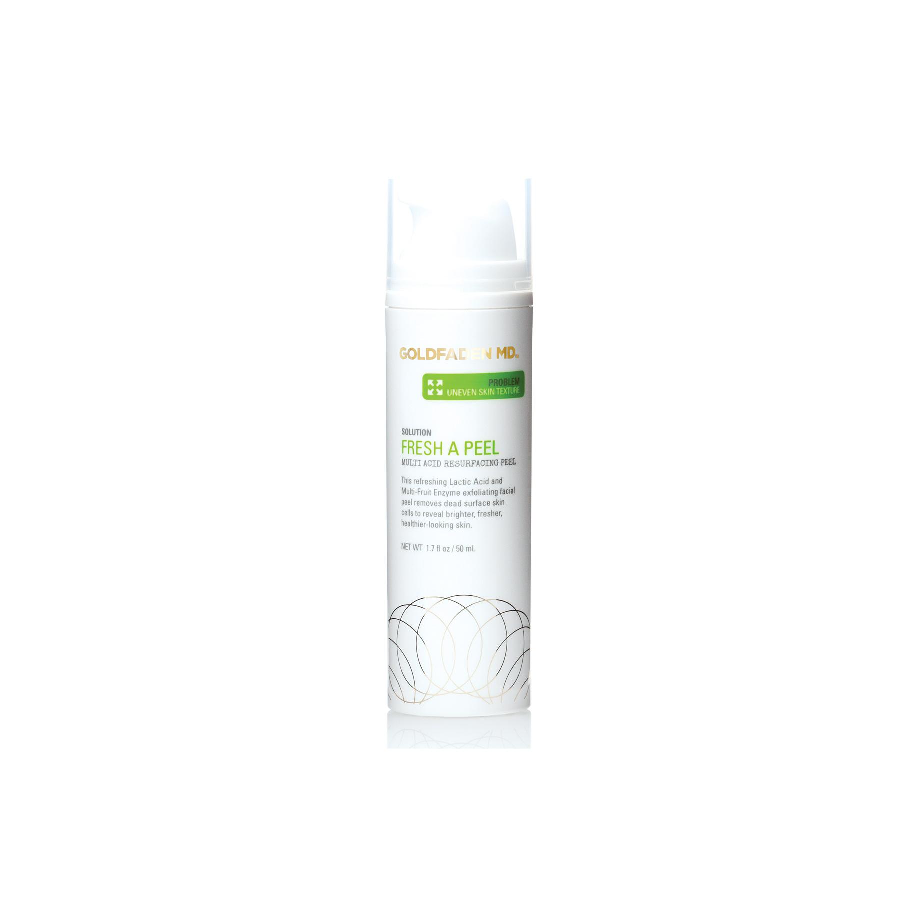 Fresh A Peel - $85   Aging/Dullness  Wipe-off gel, 10% lactic acid