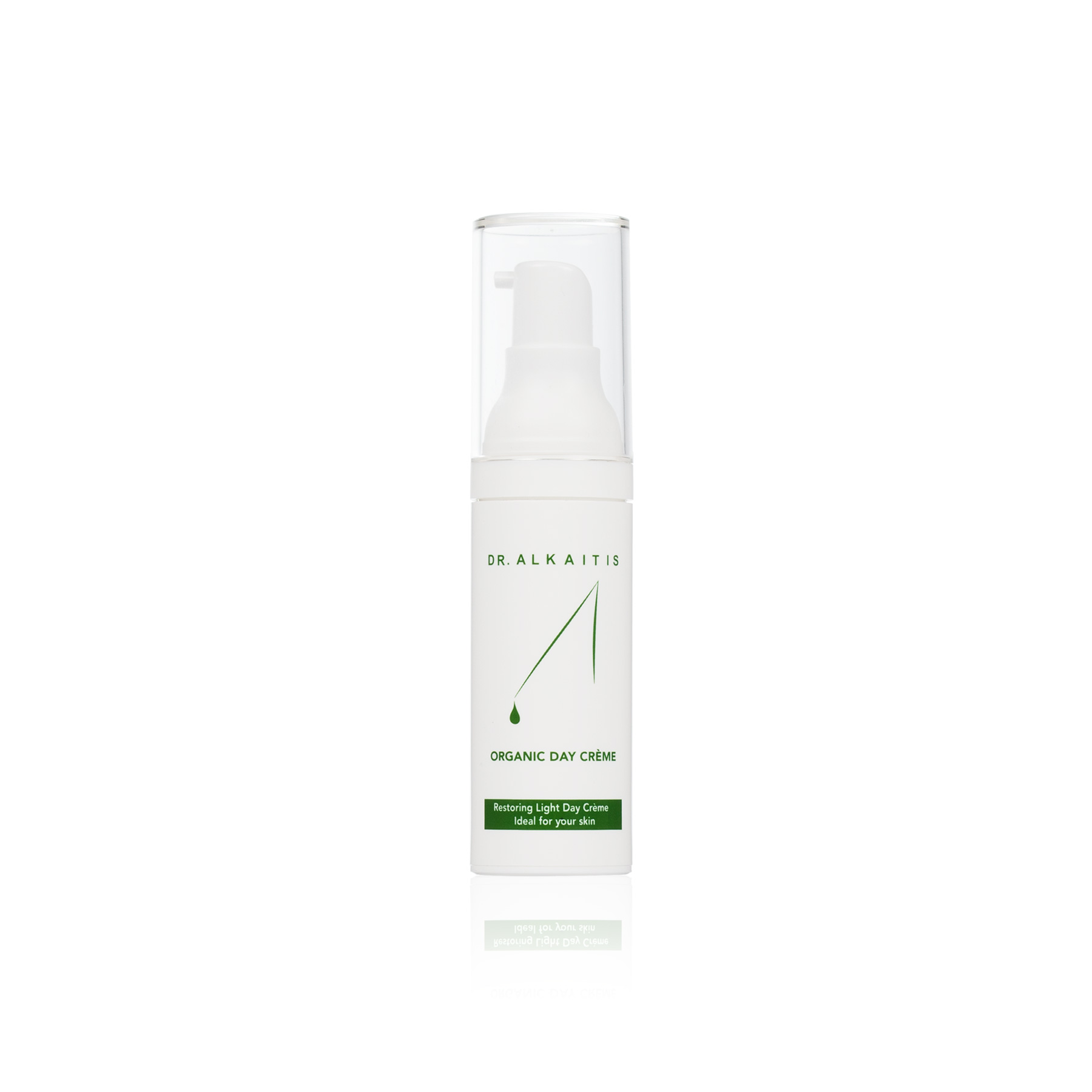 Organic Day Creme - $72   Waxy Cream lotion  Zero greasy feel and won't clog pores. Great for combo skin with some dryness.